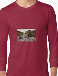 Aberfelin Cove, Pembrokeshire Long Sleeve T-Shirt