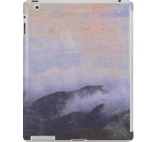 mountains in clouds iPad Case/Skin