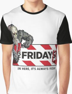Jason Voorhees - It's Always Friday the 13th Graphic T-Shirt