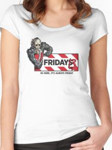 Jason Voorhees - It's Always Friday the 13th Women's Fitted Scoop T-Shirt