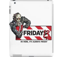 Jason Voorhees - It's Always Friday the 13th iPad Case/Skin