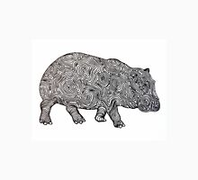 Hippo Line Art Unisex T-Shirt