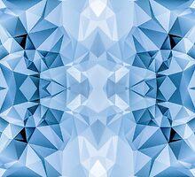 Blue Polygon by j-visentin