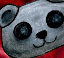 Robo Panda Loves You Sticker
