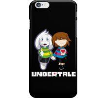 Undertale Asriel and Frisk Together  iPhone Case/Skin
