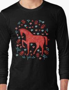 The Red Horse Long Sleeve T-Shirt