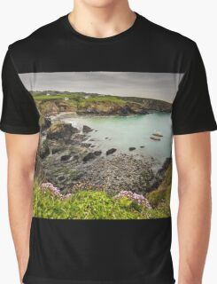 Aberfelin Cove, Pembrokeshire Graphic T-Shirt