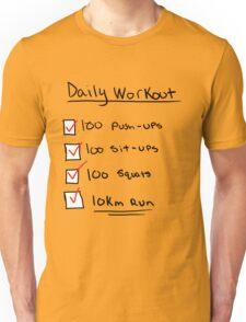 One Punch Man Workout T-Shirt