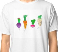 Vegetable roots Classic T-Shirt