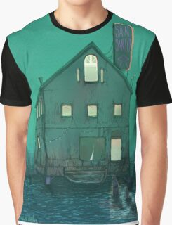 Boat House Graphic T-Shirt