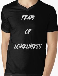Fear Of Loneliness  Mens V-Neck T-Shirt