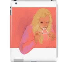 triangle eater iPad Case/Skin