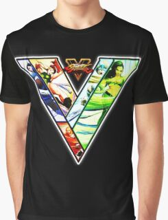 Street Fighter V - girls Graphic T-Shirt