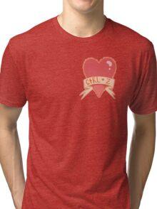 photoshop valentines Tri-blend T-Shirt