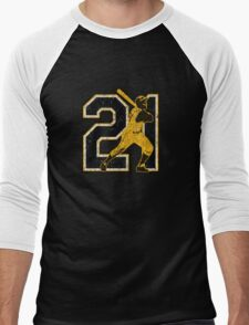 21 - Arriba (vintage) Men's Baseball ¾ T-Shirt