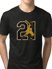 21 - Arriba (vintage) Tri-blend T-Shirt