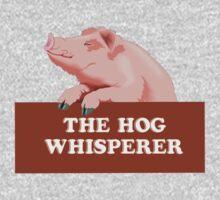 The hog whisperer Kids Tee