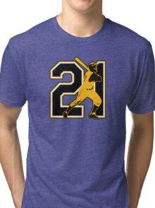 21 - Arriba (original) Tri-blend T-Shirt