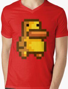 Duck Mens V-Neck T-Shirt