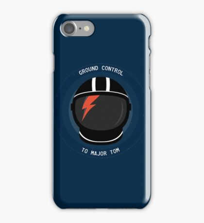 Ground Control To Major Tom - David Bowie iPhone Case/Skin