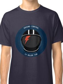 Ground Control To Major Tom - David Bowie Classic T-Shirt
