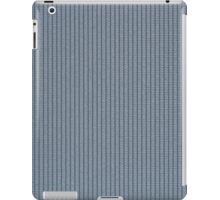 Blue fabric texture iPad Case/Skin