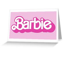 Barbie Greeting Card