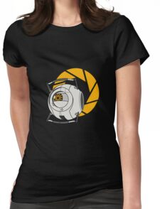 Space Core V2 (Portal 2) Womens Fitted T-Shirt