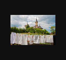 Orthodox Parish Church at Manastirea Humorului Unisex T-Shirt