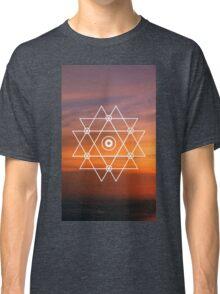 Geometric Sunset Classic T-Shirt