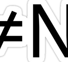 P!=NP Sticker