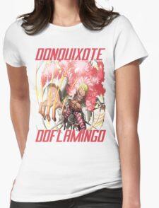 Doflamingo Attacks Womens Fitted T-Shirt