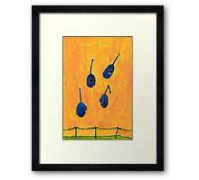 Robot Farm:  Eyes In the Skies Framed Print