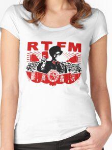 RTFM - MOSS Women's Fitted Scoop T-Shirt