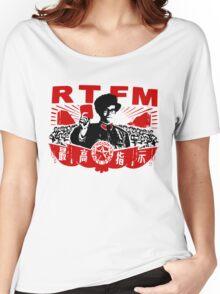 RTFM - MOSS Women's Relaxed Fit T-Shirt