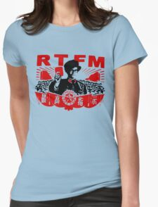 RTFM - MOSS Womens Fitted T-Shirt