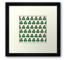 Raph Pattern Framed Print