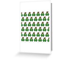 Raph Pattern Greeting Card