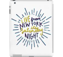 Saturday Night Live iPad Case/Skin