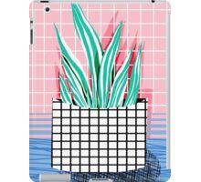 Glam - modern pop art memphis throwback retro 1980s style bklyn grid pattern new york city iPad Case/Skin
