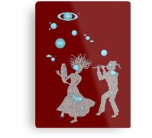 Cosmic Dance with Music of the Spheres Metal Print
