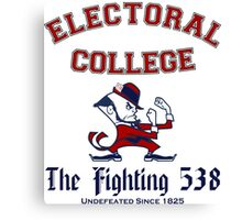 The Electoral College-Fighting 538 Canvas Print