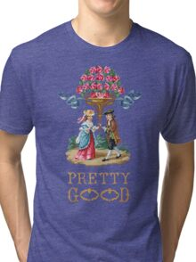 Pretty Good Red Roses Tri-blend T-Shirt