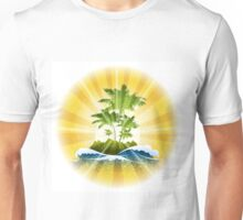 Tropic Theme Unisex T-Shirt