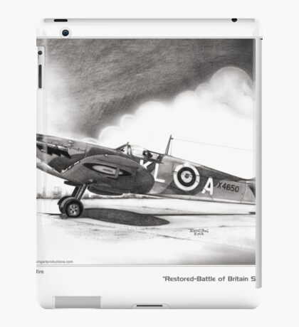 Restored Battle of Britain Spitfire iPad Case/Skin