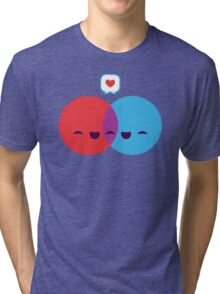 Love Diagram Tri-blend T-Shirt
