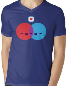 Love Diagram Mens V-Neck T-Shirt