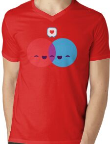 Love Diagram Mens V-Neck T-Shirt