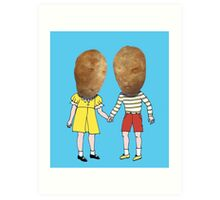 small potatoes Art Print