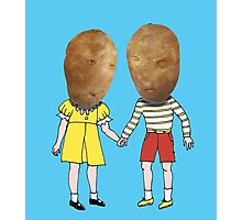 small potatoes Photographic Print
